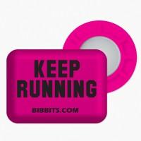 Keep Running-růžová